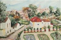 vue de village en provence by elisée maclet