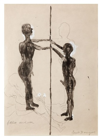 father and son study by louise bourgeois