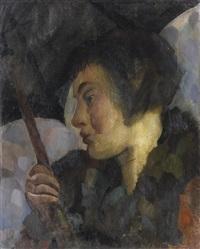 porträt frau herbig by otto herbig