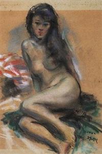 1982 裸女 by shen che tsai