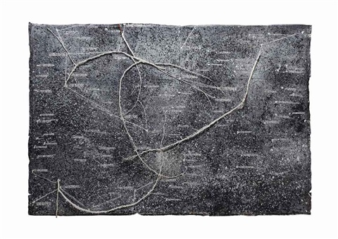 the secret life of plants star painting by anselm kiefer