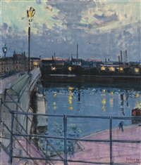 an der seine, paris by rudolf zender