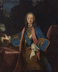 portrait de joseph, quatrième marquis de préaux by jean ranc