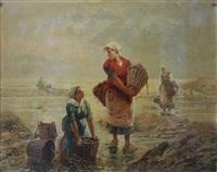les ramasseurs de coquillages by pierre testu