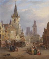 der markttag by joseph barter