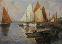 voiliers et barques by renée carpentier