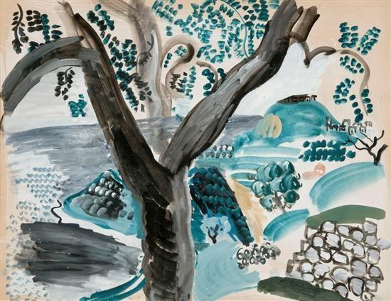 arbre à taormina by raoul dufy