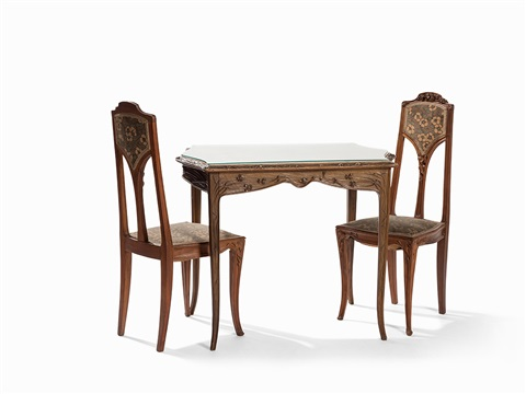 Art Nouveau Dining Room Set By Louis Majorelle