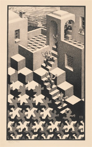 cycle by m. c. escher