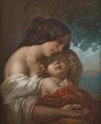 mère et enfant by héloïse laflèche