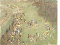 greenham common by richard eurich