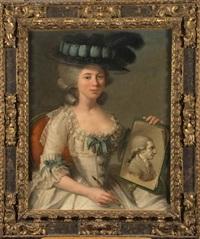 portrait d'une femme peintre by d. francisco bayeu y subias