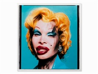 amanda as andy warhol's marilyn, usa by david lachapelle