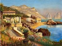 landschaft auf capri by alwin arnegger