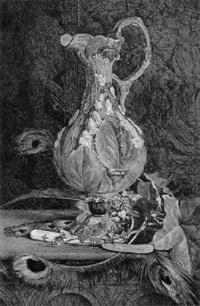 palissy vase mit efeu by john edward newton