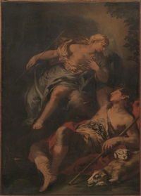 diana ed endimione by luca giordano