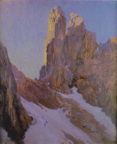 montañas nevadas de suecia by gustavo bacarisas