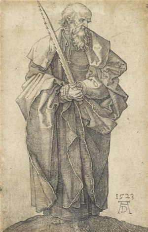 saint simon by albrecht dürer