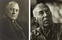 william h. orrick, attorney, 1931; henry miller (2 works) by johan hagemeyer