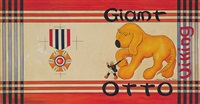 giant dog following soldier, medal (bk illus. for giant otto) by william pene du bois