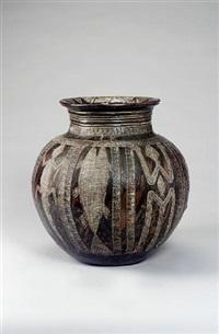 a large water pot by ladi kwali