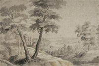 paysage by lodewijk de vadder