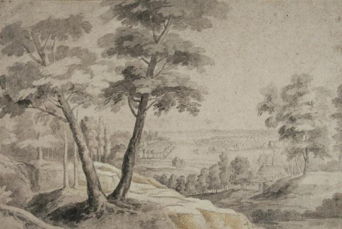 paysage by lodewijk de vadder