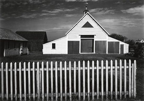 barn cape cod massachusetts by ansel adams