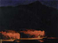 fishery fire by kato toichi