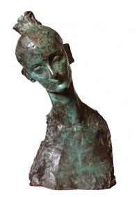 cabeza de bailarina by pablo serrano