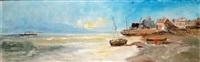 marines (2 works) by emile godchaux