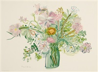 bouquet de fleurs (after dufy) by magdalena reinharez