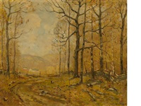 the wood road by guy carleton wiggins