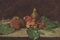 still-life with fruit by françois vernay