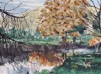 autumn stream by ted godwin