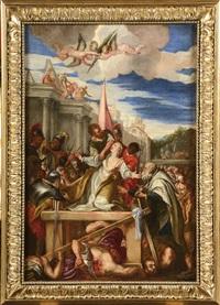 martyre de sainte afre by leandro da ponte bassano
