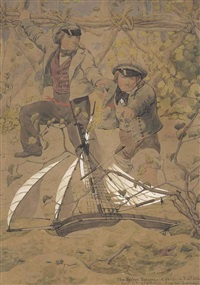 the packet delayed by richard dadd