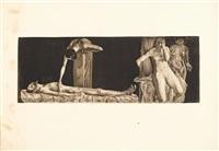 nine unframed prints (9 works) by käthe kollwitz