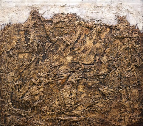 paysage tragique by jean dubuffet