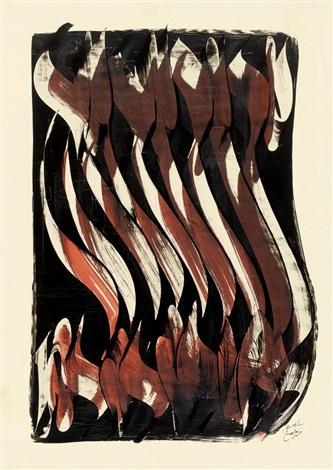 ohne titel iranische kalligraphie by mohammad ehsai