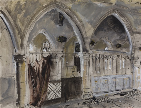 cathedral interior by john piper