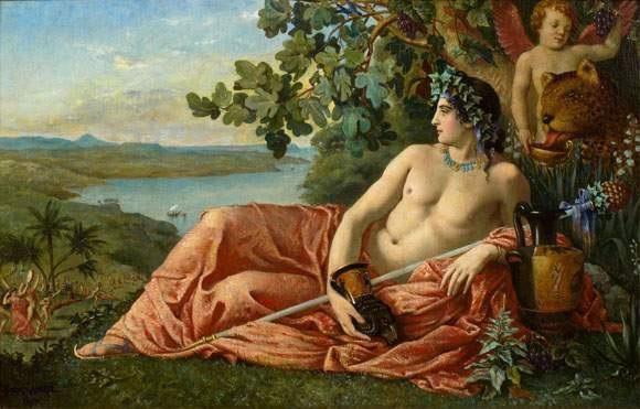 dyonisos  Dionysos sur lile de Naxos by Jacques Clement Wagrez on artnet