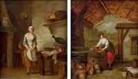 scènes de cuisine (pair) by marc antoine bilcoq