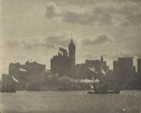 lower manhattan by alfred stieglitz