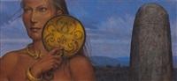 femme au miroir by antoine tzapoff