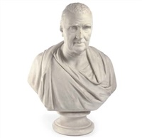 bust of john scott, 1st earl of eldon by william behnes