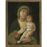 the madonna and child by andrea mantegna