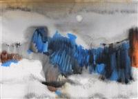 composition bleue by sigismond kolozsváry