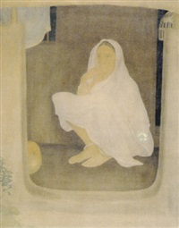 contemplation by sushil sen