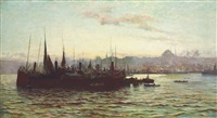 constantinople by frederick-davenport bates